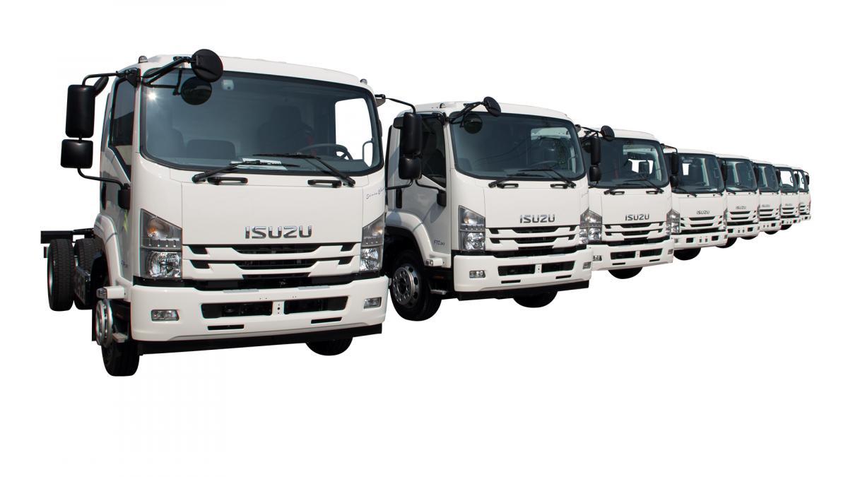 Gamma Isuzu Truck