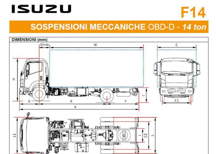Listino Isuzu F14 Sosp. Mecc