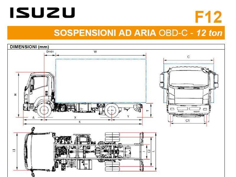 Listino Isuzu F12 Sosp. Air
