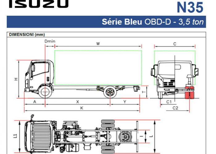 Listino Isuzu N35