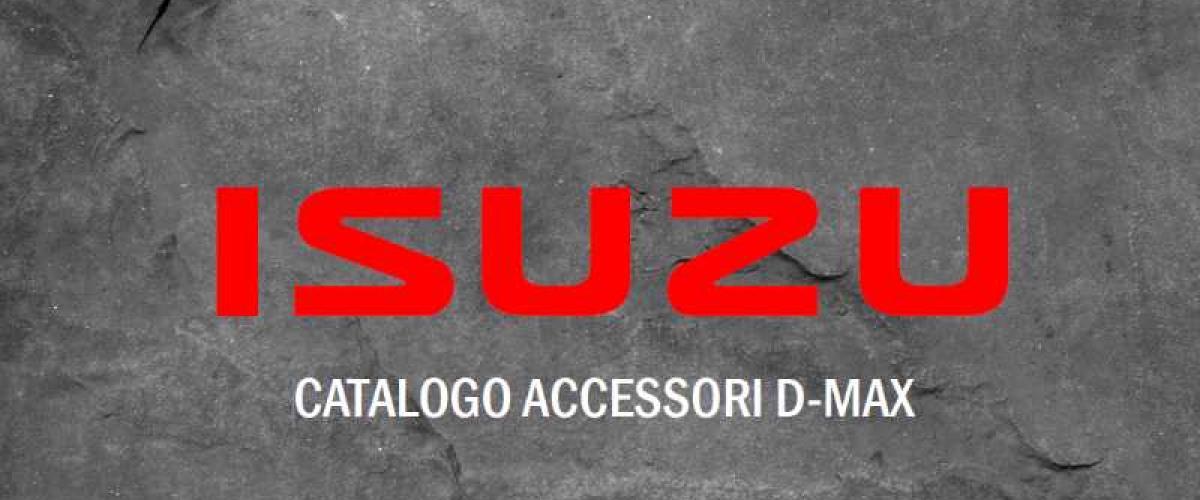 Catalogo Accessori Nuovo D-Max Maggio 2019